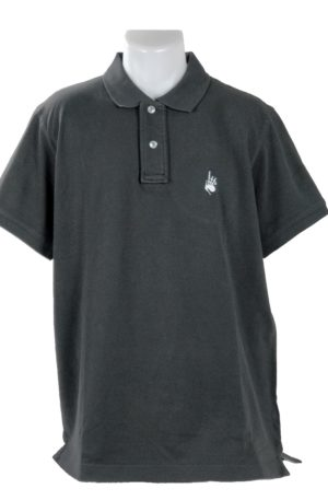 Polo Homme Vintage Charcoal
