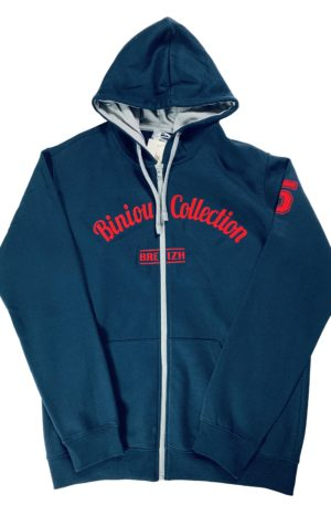 Sweats à Capuche Five Red Blue