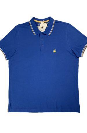 Polo Homme Club Bleu Roi (Nouveau)