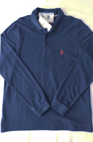 Polo Homme Classic Manche Longue Navy
